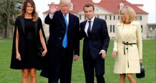 Трамп Макрону: У Паризу су већ учили немачки пре него што су вас Американци ослободили од Хитлера