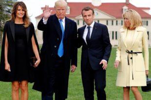 Трамп Макрону: У Паризу су већ учили немачки пре него што су вас Американци ослободили од Хитлера 7