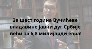 Вучић: Србија мора да враћа дугове што пре 12