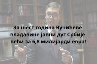 Вучић: Србија мора да враћа дугове што пре 11