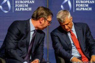 """Тачи о Вучићу: """"По први пут имамо партнера који је спреман да разговара о признању Kосова"""""""