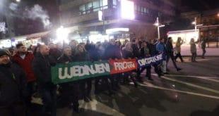 Крушевац: На улицама народ са опозицијом! (видео) 12
