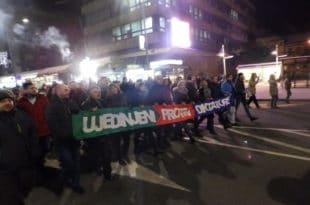 Крушевац: На улицама народ са опозицијом! (видео) 5