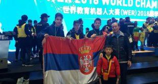 Тријумф српских ђака на такмичењу из роботике у Шангају