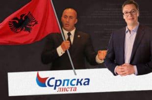 """Шиптари се хвале како им је """"Српска листа"""" помогла да формирају нову владу са терористом Харадинајем"""