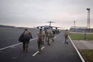 Црногорци у борбеној групи НАТО-а на руској граници у Летонији!