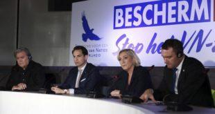 Марин Ле Пен и Стив Бенон: Пакт о мигрантима УН-а је споразум са ђаволом!