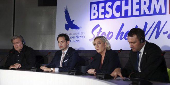 Марин Ле Пен и Стив Бенон: Пакт о мигрантима УН-а је споразум са ђаволом! 1