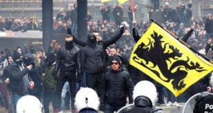 Брисел: Масовни протести против потписивања мигрантског пакта УН (видео) 8