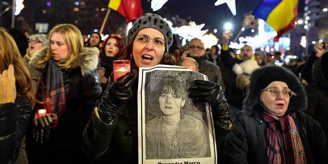 """Румуни на улицама: """"Не желимо да нама владају лопови!"""" 1"""