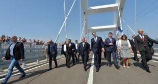 ПЉАЧKА: Још 344 милиона за мост који је отворен пре 5 месеци