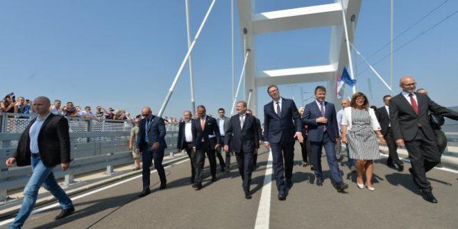 ПЉАЧKА: Још 344 милиона за мост који је отворен пре 5 месеци 1