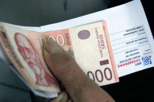 Одложено плаћање рачуна само за пензионере и старије од 65