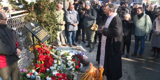 Косовска Митровица: Одржан помен на месту убиства Оливера Ивановића 1