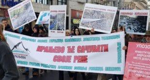 Одржан протест против изградње МХЕ у Србији: Штета по реке велика (видео) 12