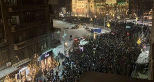 ПРОТЕСТИ! Београд, Ниш, Крагујевац, Пожега и Нови Сад на ногама (видео) 11