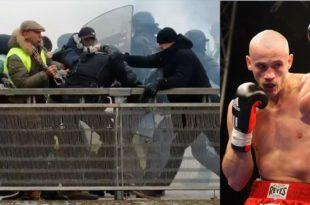 """ХЕРОЈ """"ЖУТИХ ПРСЛУКА"""": Скупљају паре за бившег боксера који је разбио жанадармерију (видео)"""