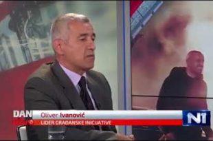 Оливеру Ивановићу претили, запалили ауто, убили сарадника па онда и њега (видео)