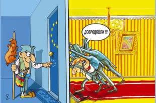 Европска унија је санта која се топи под ногама Меркелове и Макрона