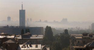 Београд јутрос око 9 часова био најзагађенија престоница света 8