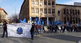 Протест и шетња полицајаца у Прокупљу (видео) 11