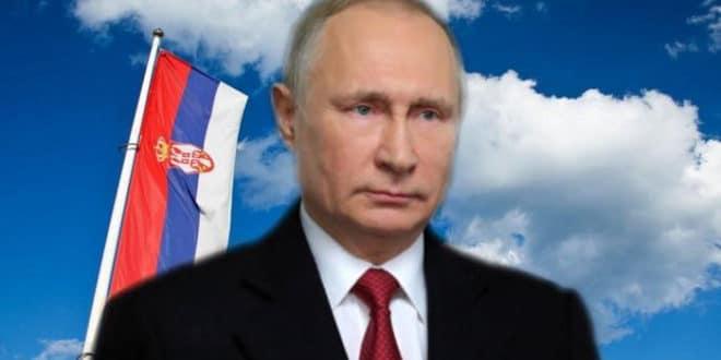 Путин: Желим братском народу Србије благостање и просперитет 1