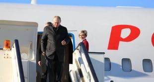 Владимир Путин допутовао у Београд 7