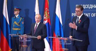 Руски медији: Позиција Путина у Србији много чвршћа него Александра Вучића!