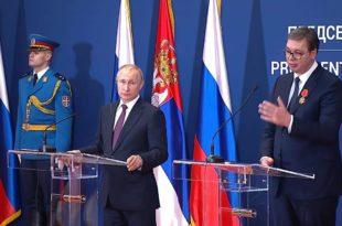 Руски медији: Позиција Путина у Србији много чвршћа него Александра Вучића! 9
