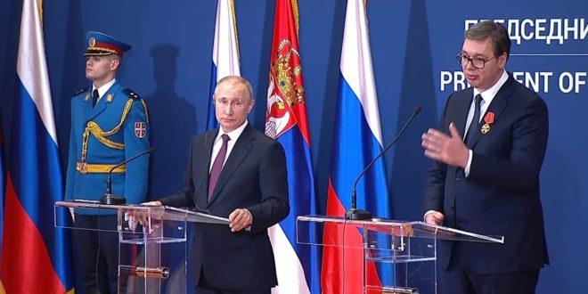 Руски медији: Позиција Путина у Србији много чвршћа него Александра Вучића! 1