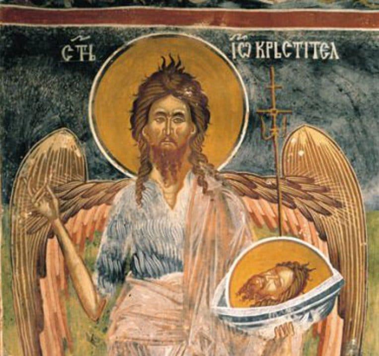 Резултат слика за свети јован крститељ