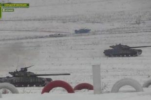 ФРОНТ ЛУГАНСК: Оклопно-механизоване јединице Војске ЛНР подижу своју борбену готовост (видео)
