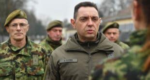 Вулин сменио официра који се бори против криминала и корупције у Војсци Србије