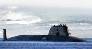 """Поринута прва руска нуклеарна подморнице четвртог покољења класе """"Јасењ"""" (видео)"""