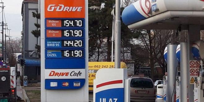 Опет поскупело гориво а већ најављују нова поскупљења! 1