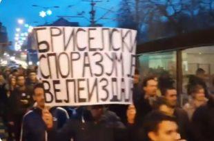 Слом Бриселског споразума: Срби на Косову на оптуженичкој клупи и у — штрајку