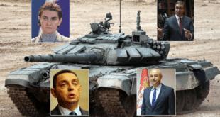 СКАНДАЛ! Вучић, Брнабић и Вулин одбили руску донацију модерних руских тенкова Србији!?