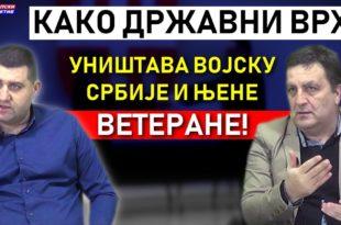 Kако Вучић систематски уништава војску Србије и њене ветеране! (видео)