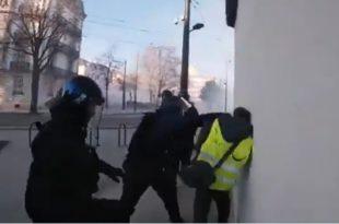 """""""Жути прслуци"""" поново на улицама широм Француске, заказан велики протест на Шанзелизеу (видео)"""