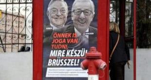 Мађарска појачава кампању против лидера ЕУ 6