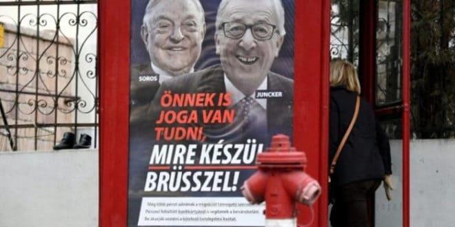 Мађарска појачава кампању против лидера ЕУ 1