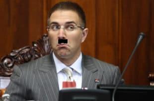 Ви министре лично користите ФАШИСТИЧКЕ МЕТОДЕ политичке борбе успут кршећи закон!