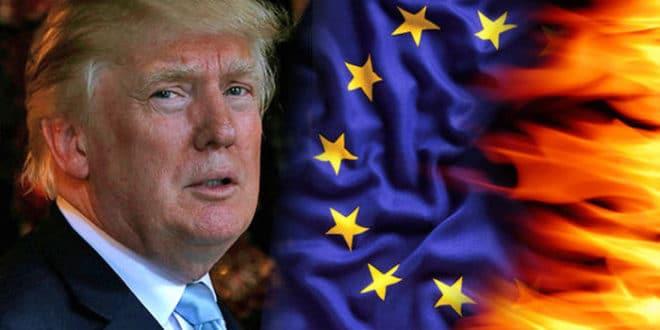 """Трамп прети Бриселу новим царинама на """"многе европске производе"""" 1"""