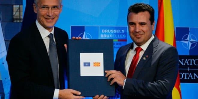 У Бриселу потписан протокол о приступању Македоније НАТО 1