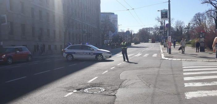 Полиција блокирала шири центар Београд (фото) 5