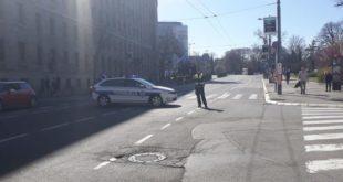 Полиција блокирала шири центар Београд (фото) 12