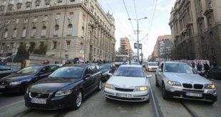 Центар Београда блокиран због протеста 7