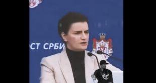 Брнабић: Никада у Србији није било горе! (видео)