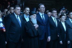 Стаматовић: Нечасно је да се партријарх Иринеј бави пропагандом у корист Вучића