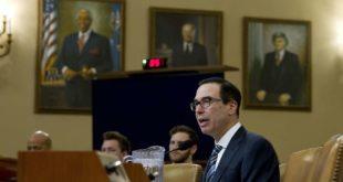 Министар финансија САД Стивен Мнучин није Сенату могао да каже колики је државни дуг 1